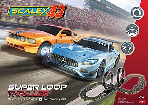 Scalextric - Scalex43 - Juego de suspenso Super Loop (484974)