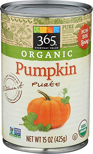 365 Everyday Value, Organic Pumpkin Puree, 15 oz