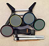 Rock Band Harmonix Wired Drum Kit Set Stand Ps2/Ps3 822148 Playstation