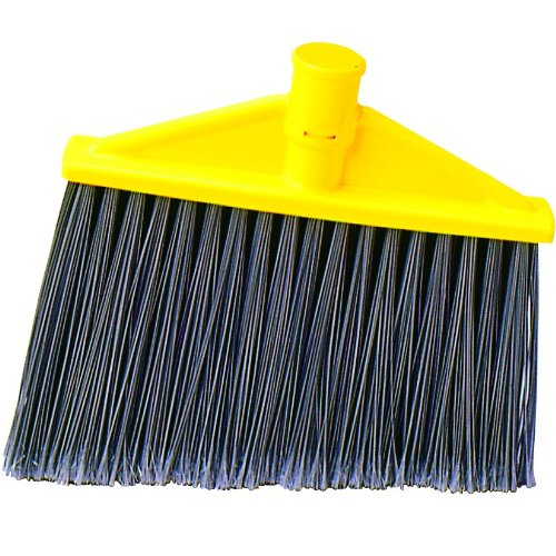 Rubbermaid Commercial Angle Broom, Replacement Head for Brooms: FG635100 and FG635500 (FG639700GRAY)