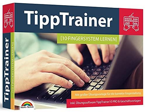 10 Finger Tippen - Maschinenschreiben - das Multimedia Paket inkl. Tipp Trainer Software für den PC