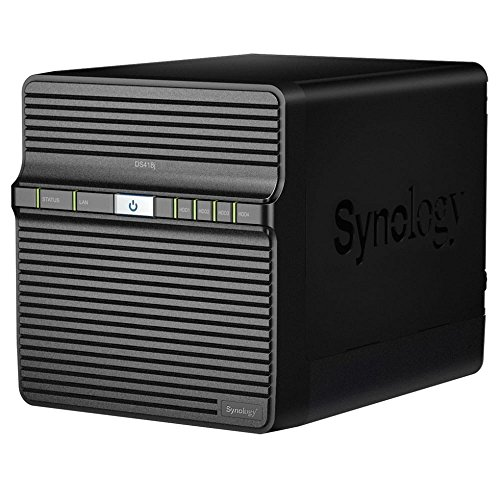 Synology, desktop-NAS-eenheid omheining Enclosure zwart