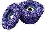 5 x discos CSD Rostio 125 mm violeta | violeta para amoladoras angulares | Flex