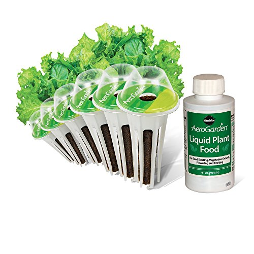 AeroGarden Salad Greens Mix Seed Pod Kit, 6