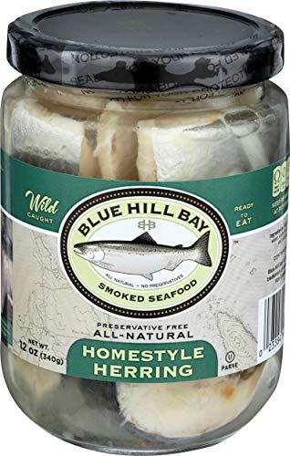 Blue Hill Bay, Homestyle Pickled Herring Fillet, 12 oz