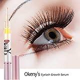 Okeny'S Eyelash Growth Eye Serum 7 Day Eyelash Enhancer Longer Fuller Thicker Lashes