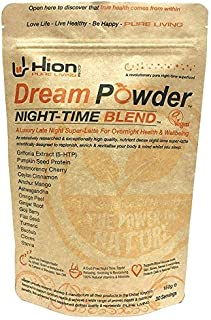 Hion Dream Powder | 30 Servings | The World's Premium Night-time Recovery Superfood | Relax While Your Mind and Body are replenished for Tomorrow