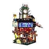 Juego de Luces LED para Lego Ninjago Set City 70620 (no incluir Lego Modelo)