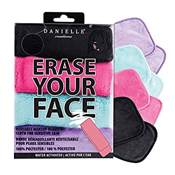 Make-up Removing Cloths 4 Count Erase Your Face By Danielle Enterprises Enterprises Enterprises