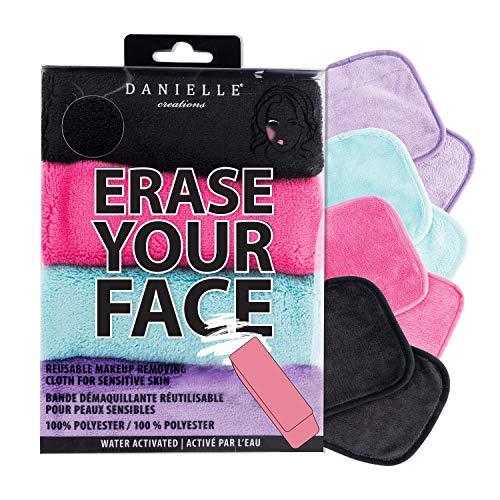 Paños de eliminación de maquillaje 4 unidades, borra tu cara por Danielle Enterprises Enterprises Enterprises Enterprises Enterprises