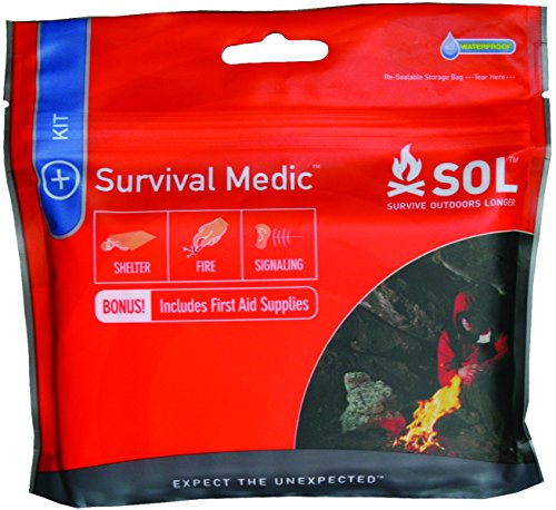 S.O.L. Waterproof Survival Medic First Aid Kit