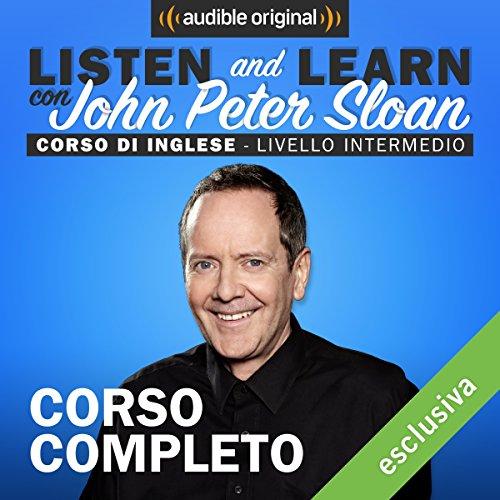 Listen and learn: Corso d'Inglese - Livello intermedio audiobook cover art