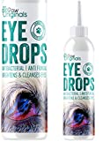 Paw Originals Dog Eye Drops - Antibacterial & Anti Fungal Formula   Itchy, Watery, Gunky Eyes   Brightens, Sparkles & Cleans Dogs Eyes - Non Toxic Eye Cleaner For Dogs   100% Safe & UK Trusted Brand