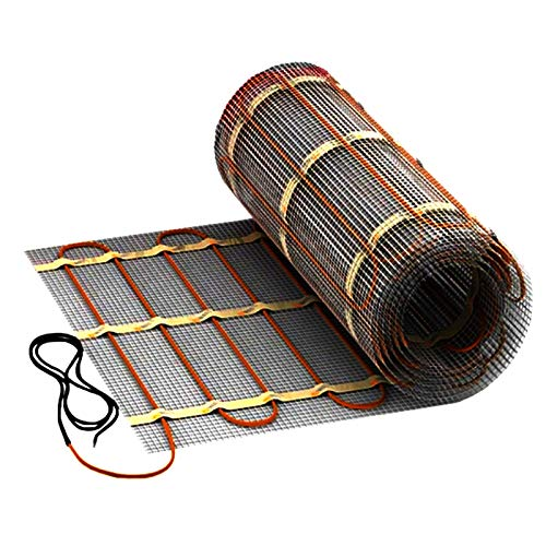 Heizmatte 6,0m² Heizung für Fliesen Marmor Teppich Badheizung Bade Heizung