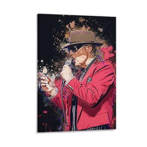 Udo Lindenberg Poster, dekoratives Gemälde, Leinwand, Wandkunst, Wohnzimmer, Poster, Schlafzimmer, Malerei, 50 x 75 cm