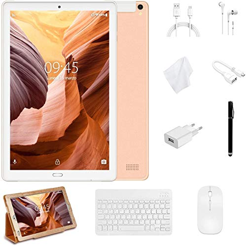 tablet mediacom 8 pollici YESTEL Tablet 10 Pollici con wifi offerte Android 8.1 Tablet PC con 3GB RAM & 32GB ROM e LTE Dual SIM Call