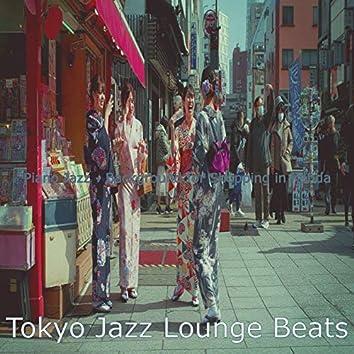 Piano Jazz - Background for Shopping in Kanda