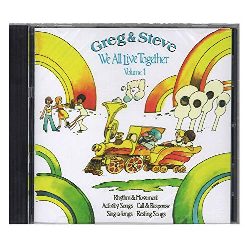 Greg & Steve Productions YM-001CD Greg & Steve: We All Live Together Vol. 1...