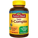 Best B Complex Supplements - Nature Made Super B-Complex Tablets with Vitamin C Review