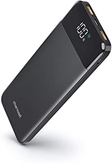 Portable Charger Slim Thin 10000 mah, 18W USB C Quick charge Battery Pack, Charmast PD 10400mAh Type C Power Bank Compatib...