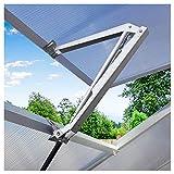 Bilisder Automatischer Fensteröffner Gewächshaus, Gewächshaus Fensteröffner für Gartenhäuser & Aufbewahrung, Temperaturgesteuert Hubkraft 7 kg Hubhöhe 45 cm