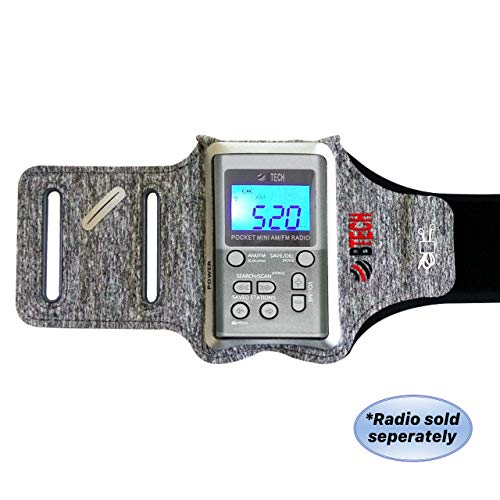 BTECH MPR-AB Armband Radio Holster Designed for The MPR-AF1 AM FM Pocket Radio