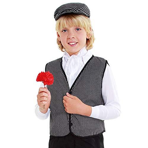 Chaleco Chulapo Niño【Tallas Infantiles 1 a 12 años】[Talla 4-6 años ] Disfraz...