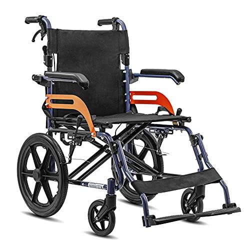 KosmoCare Tranz Dzire Aluminium Folding Wheelchair with Seat Belt