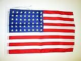 AZ FLAG Flagge USA 48 Sterne 45x30cm mit Kordel - VEREINIGTEN Staaten VON Amerika Fahne 30 x 45 cm - flaggen Top Qualität