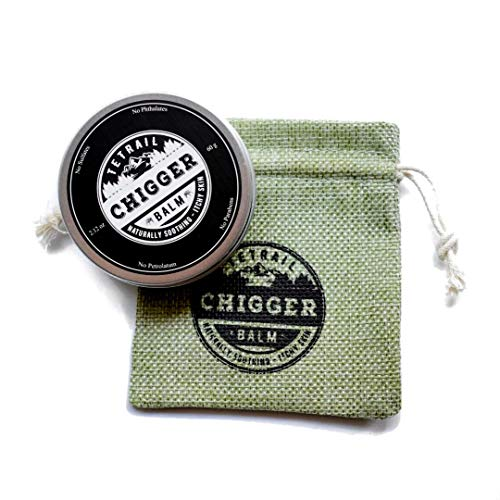 Tetrail Chigger Balm - Natural Bug Bite Itch and Sting Relief 2.12 oz