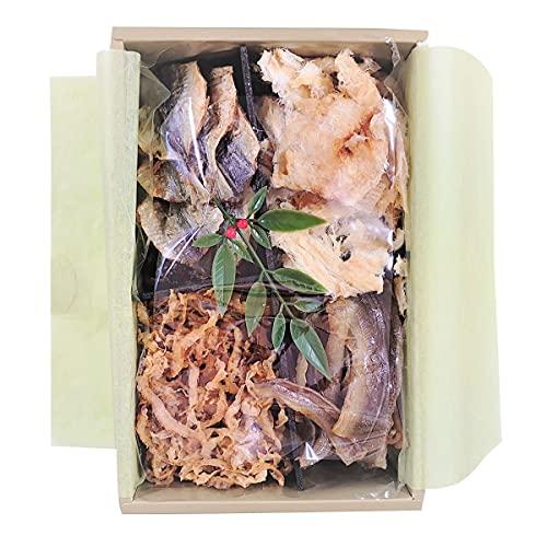 特選 珍味 4種 詰合せ うらしま 1箱 乾物 セット おつまみ 帆立 アジ アナゴ 魚介 愛媛