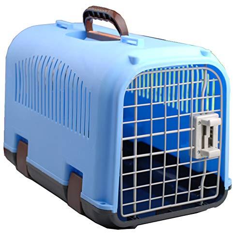 Pet Air Box Sortie Portable Pet Valise Pet Fournitures Multi-Couleur boîte à air Pet Out Cage d'air Chat Dog Cage,Blue