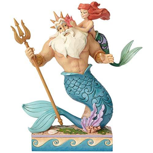 Disney Traditions La Piccola Principessa di papà-Figurina di Ariel & Triton