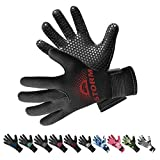 BPS Neoprene 3mm Thermal Gloves with Anti-Slip Palm - Water Gloves for Wetsuit,...