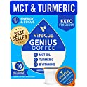 16-Pack VitaCup Energy & Focus with MCT Genius Coffee Pods