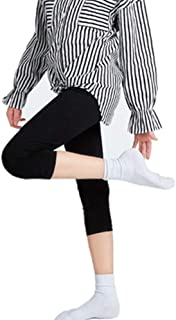3wmall Toddle Baby Girls Fashion Opaque Soft Cotton Leggings Basic Ankle Lengt Footless Pants Tights Stockings 1-14 Years