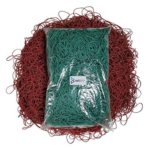 1 kg de gomas verdes para el hogar, anillos de goma, cinta...