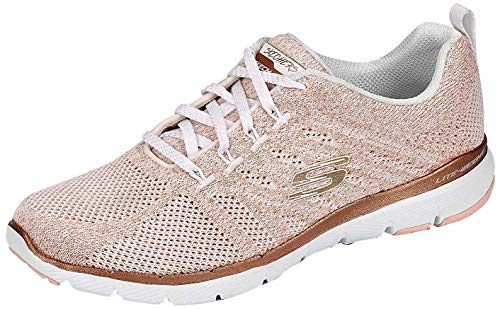 Skechers Damen Sneaker Low Flex Appeal 3.0 rosa 38
