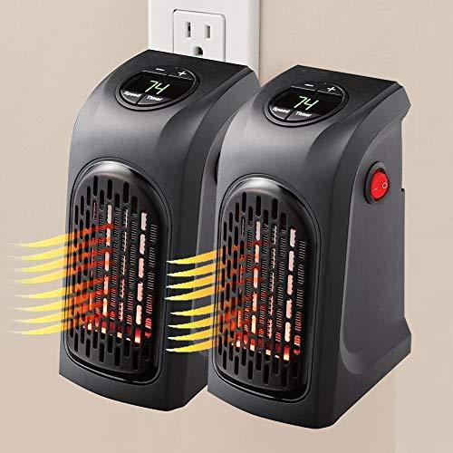 JINGBO 2 pz Mini Portátil Handy Heater 350W Bajo Consumo Estufa Eléctrica...