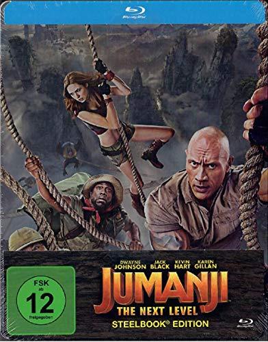 Jumanji: The Next Level Steelbook [Blu-ray]