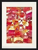 1art1 Paul Klee - Rosengarten, 1920 Gerahmtes Bild Mit