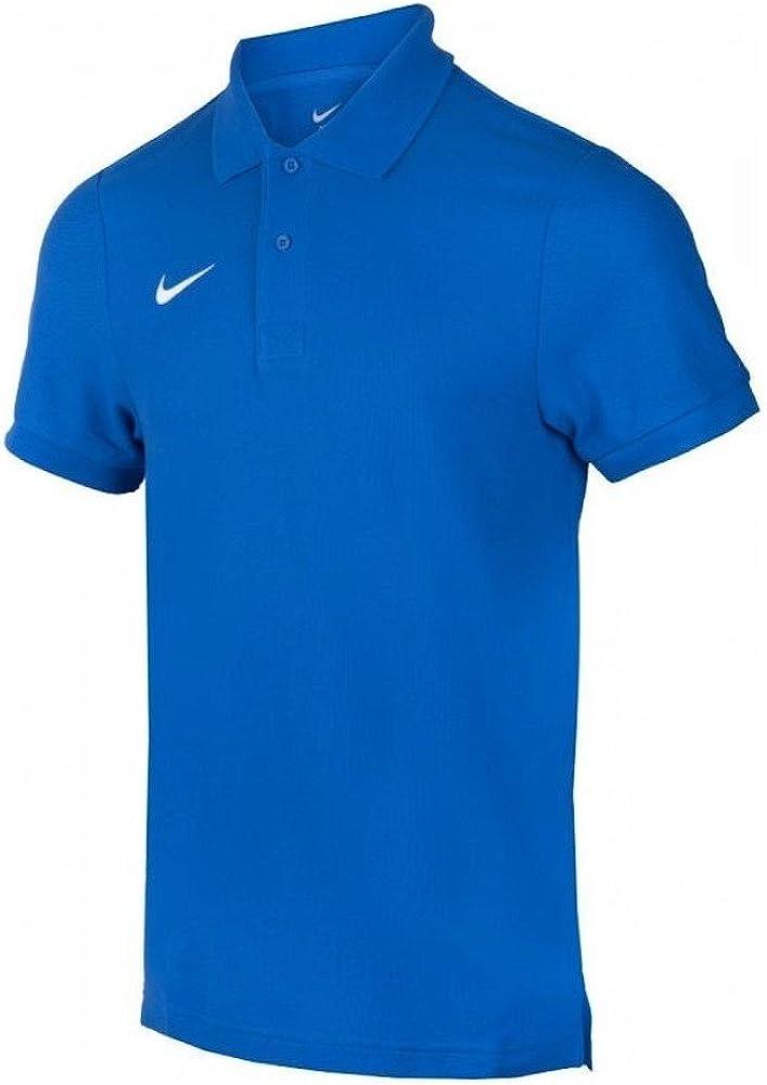 Nike ts core polo magliettada uomo a maniche corte 100% cotone 454800-101