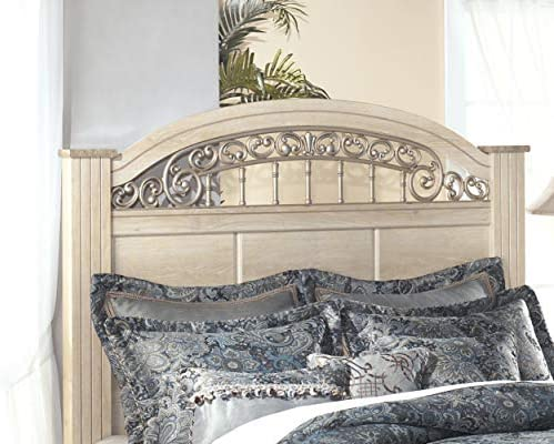 Ashley Furniture Signature Design Catalina Poster Headboard Antique Style Bed Set Component product image