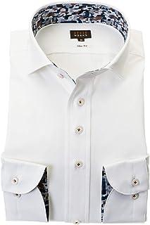 ドレスシャツ ワイシャツ カッターシャツ シャツ STYLE WORKS(スタイルワークス 長袖 ワイドカラー ワイドカラー メンズ 柄シャツ 派手シャツ|RWD124-014 [014-L]