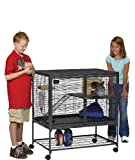 MidWest Deluxe Critter Nation Single Unit Small Animal Cage (Model 161)...