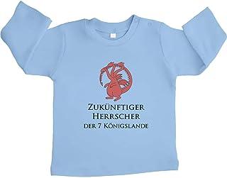 Shirtgeil GOT - Zukünftiger Herrscher der 7 Königslande Unisex Baby Langarmshirt