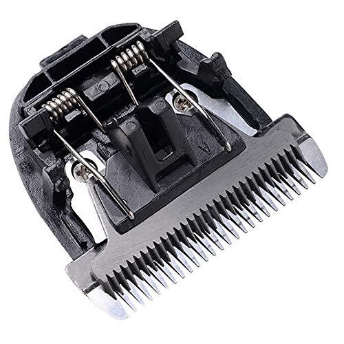 Sonline Haute Qualité Noir CéRamique Titane Couteau Pet Chien Cheveux Tondeuse Lame Clipper TêTe pour BaoRun P2 P3 P6 P9 S1 LILI ZP-295 ZP-293 4