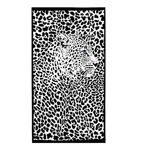 BWINKA Toalla de playa extra grande toalla de playa de microfibra sexy toalla de playa de leopardo suave toalla de baño de mujer toalla de baño(100*180cm)