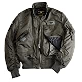Alpha Industries Flight Jacket Engine, Farbe:rep.grey;Größe:M
