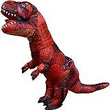 GUAITAI Adult Red Tyrannosaurus Rex Inflatable Costume World Dinosaur Blow Up Costume